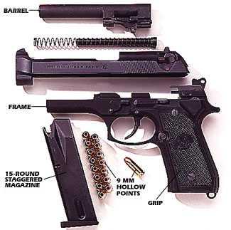 11)История становления Beretta 92 и её дальнейших модификаций