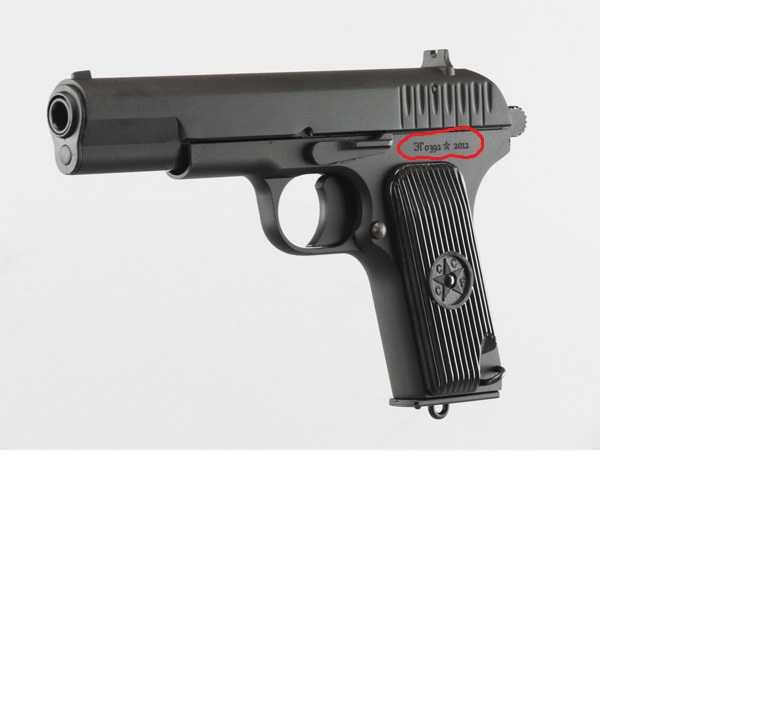 2)Обзор пистолета ТТ-33 от компании SRC