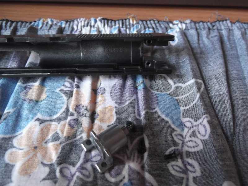 8)Полная/неполная разборка пистолета Gletcher TT NBB