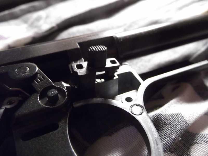 38)Полная/неполная разборка пистолета Gletcher TT NBB