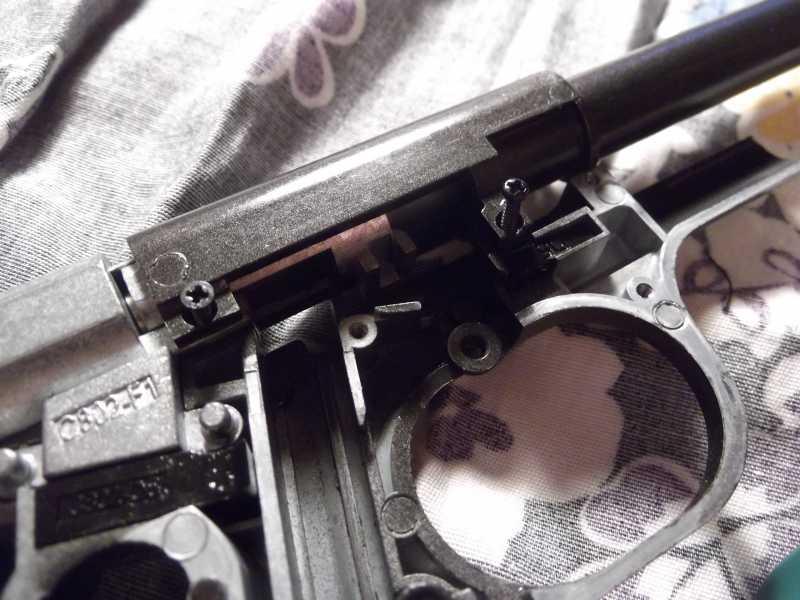 17)Полная/неполная разборка пистолета Gletcher TT NBB