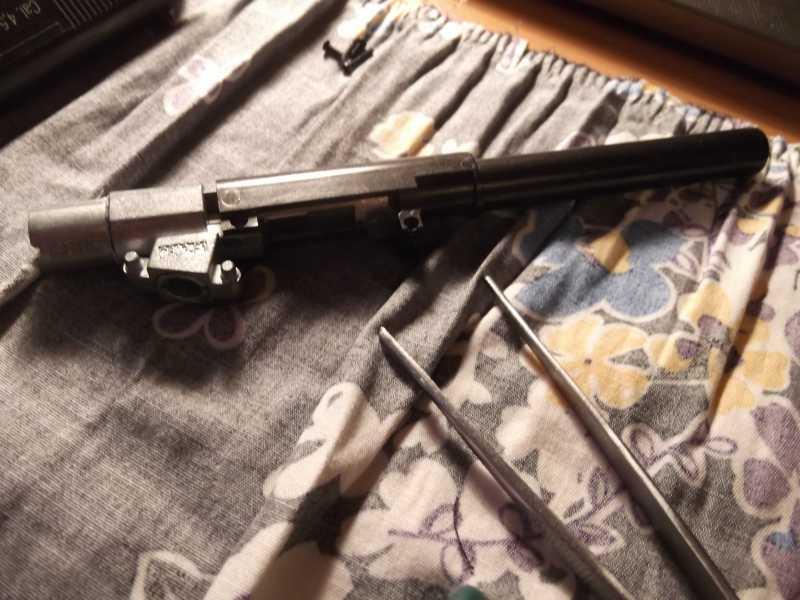 30)Полная/неполная разборка пистолета Gletcher TT NBB