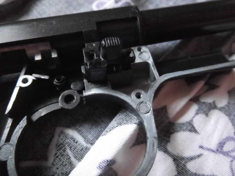15)Полная/неполная разборка пистолета Gletcher TT NBB