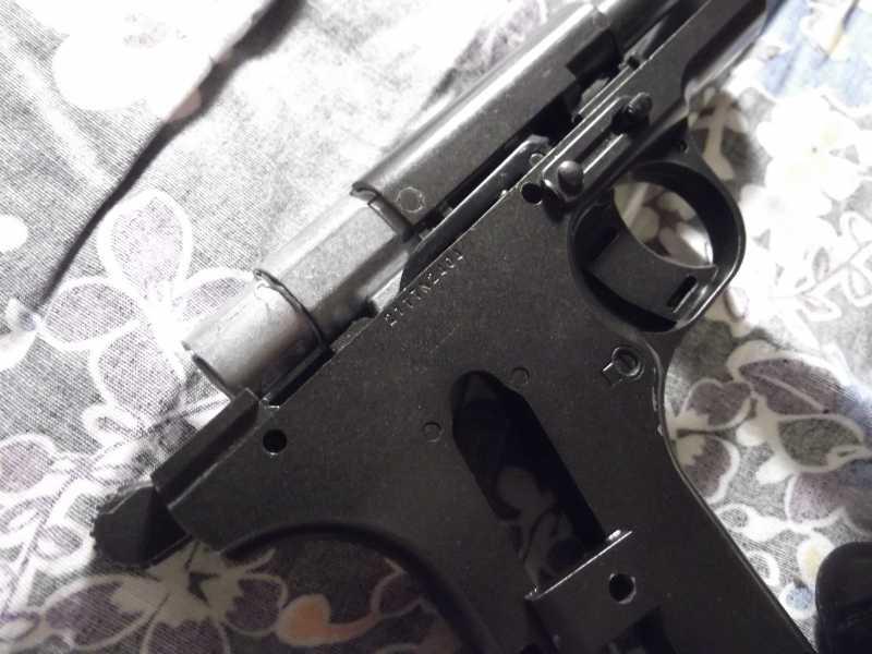 45)Полная/неполная разборка пистолета Gletcher TT NBB