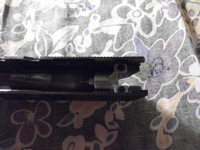 47)Полная/неполная разборка пистолета Gletcher TT NBB
