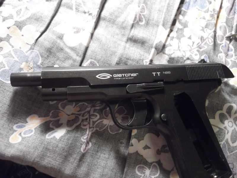 48)Полная/неполная разборка пистолета Gletcher TT NBB