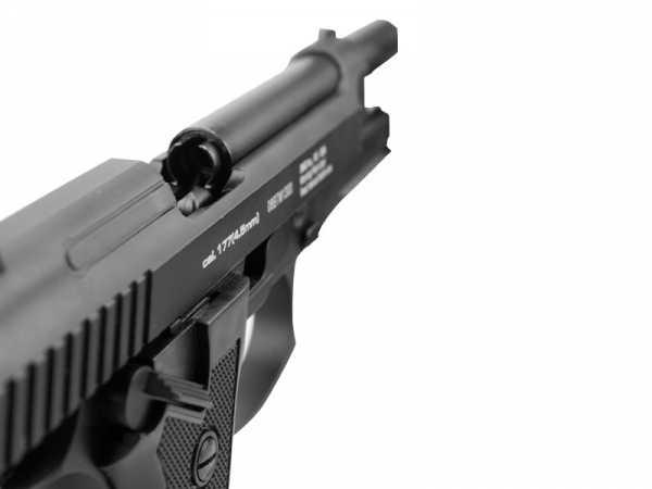 5)Пневматический пистолет Glether BRT 92 FS