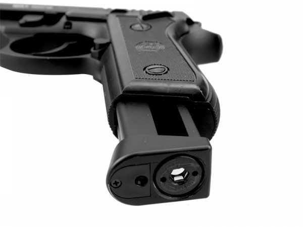 6)Пневматический пистолет Glether BRT 92 FS