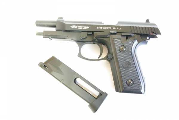 7)Пневматический пистолет Glether BRT 92 FS