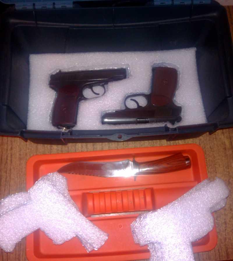 2)Кейс для 4-х пистолетов своими руками.