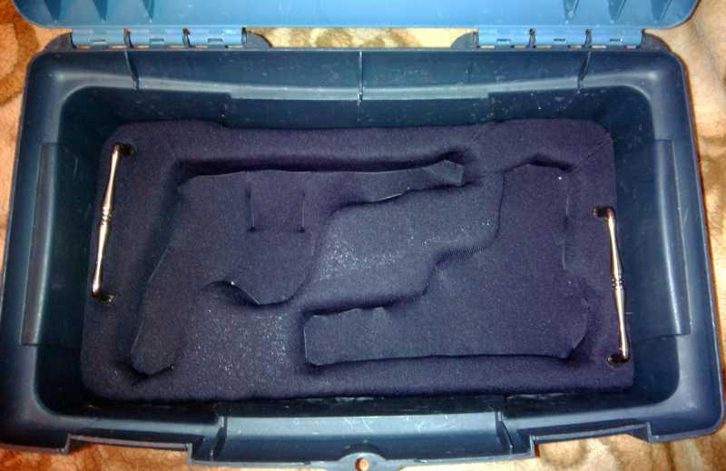 5)Кейс для 4-х пистолетов своими руками.