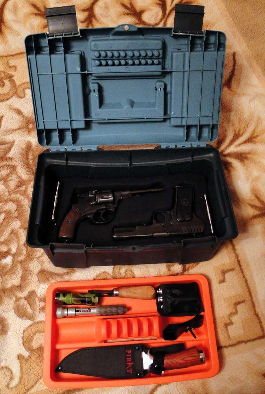 7)Кейс для 4-х пистолетов своими руками.