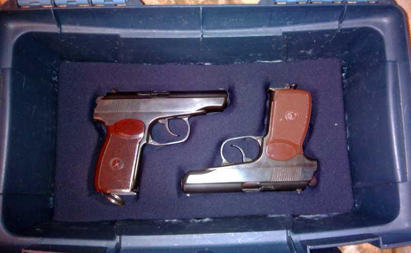 11)Кейс для 4-х пистолетов своими руками.