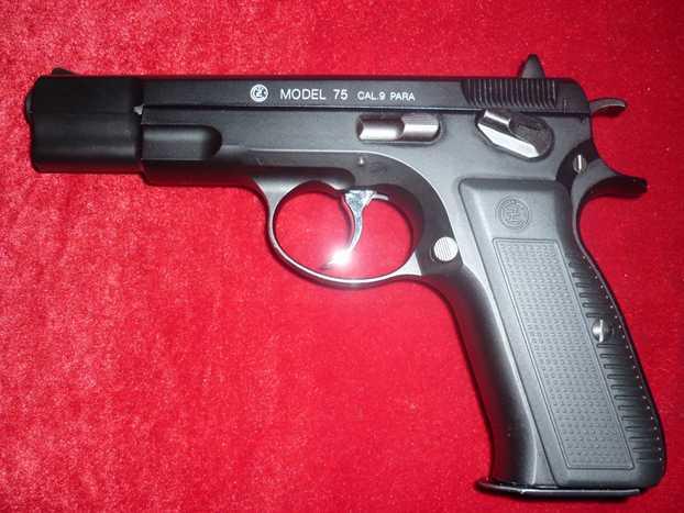 1)Обзор KSC CZ 75, GBB, Pistol (System 7)