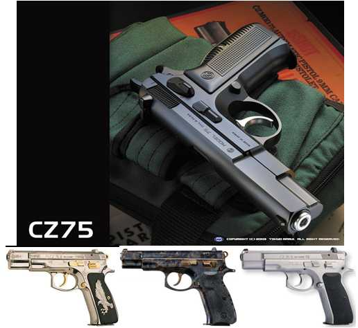 2)Обзор KSC CZ 75, GBB, Pistol (System 7)