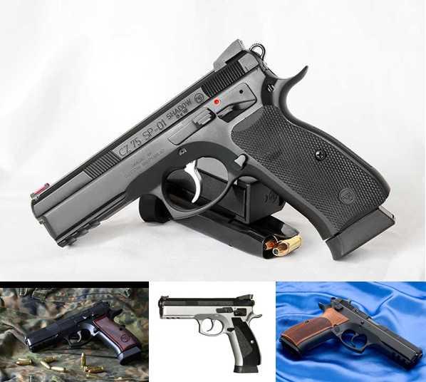 3)Обзор KSC CZ 75, GBB, Pistol (System 7)