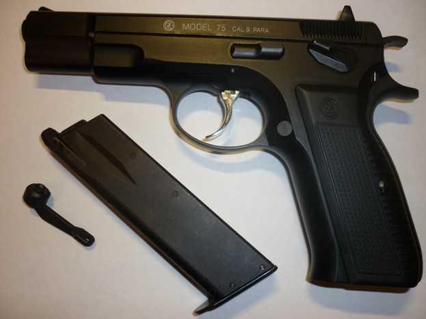 8)Обзор KSC CZ 75, GBB, Pistol (System 7)