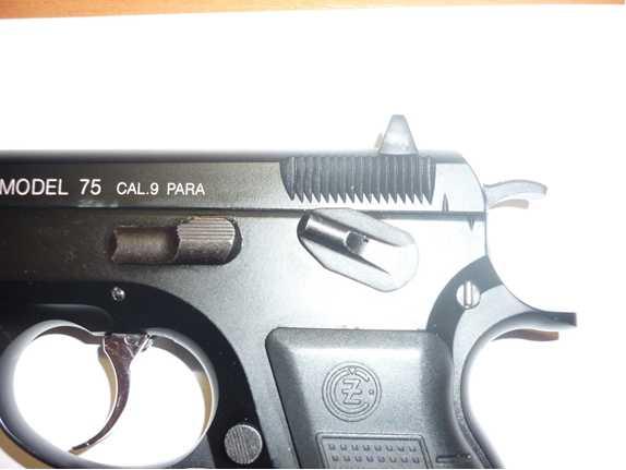 9)Обзор KSC CZ 75, GBB, Pistol (System 7)