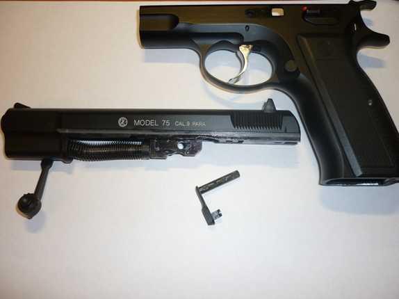 10)Обзор KSC CZ 75, GBB, Pistol (System 7)