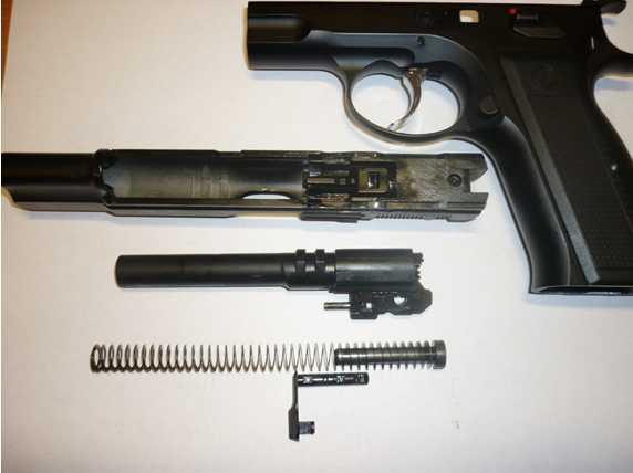 11)Обзор KSC CZ 75, GBB, Pistol (System 7)