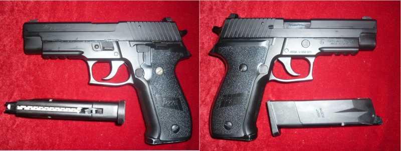 3)Обзор Airsoft пистолетов Sig Sauer P226 (ТМ и WE)
