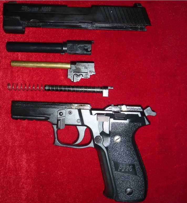 4)Обзор Airsoft пистолетов Sig Sauer P226 (ТМ и WE)