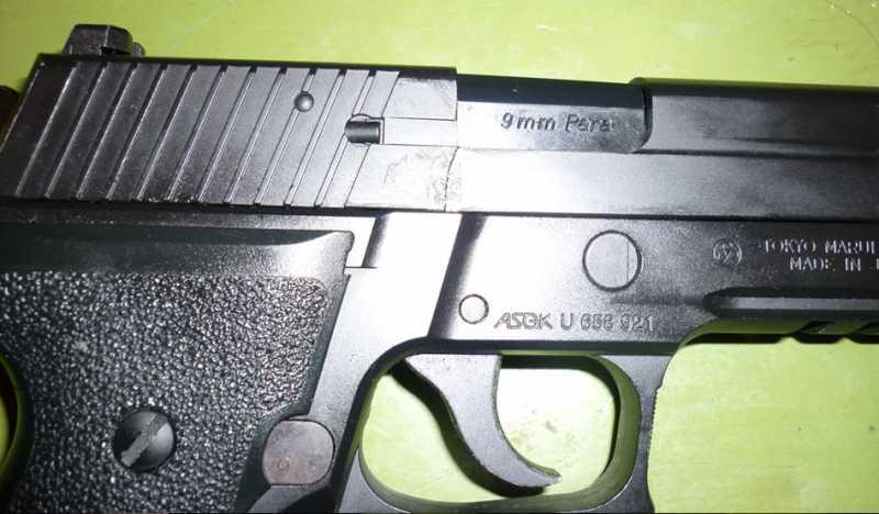 6)Обзор Airsoft пистолетов Sig Sauer P226 (ТМ и WE)