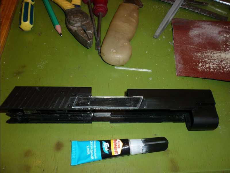 8)Обзор Airsoft пистолетов Sig Sauer P226 (ТМ и WE)