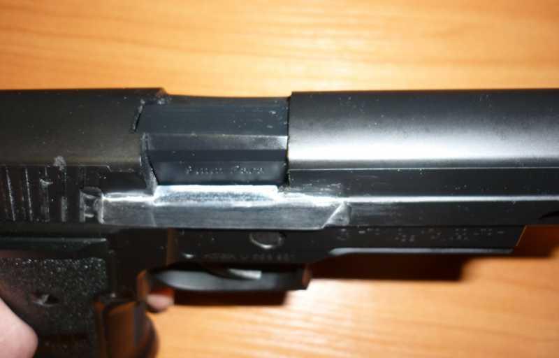 9)Обзор Airsoft пистолетов Sig Sauer P226 (ТМ и WE)