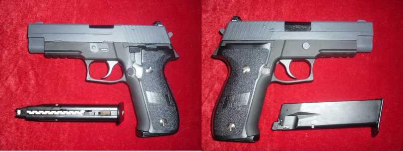 10)Обзор Airsoft пистолетов Sig Sauer P226 (ТМ и WE)