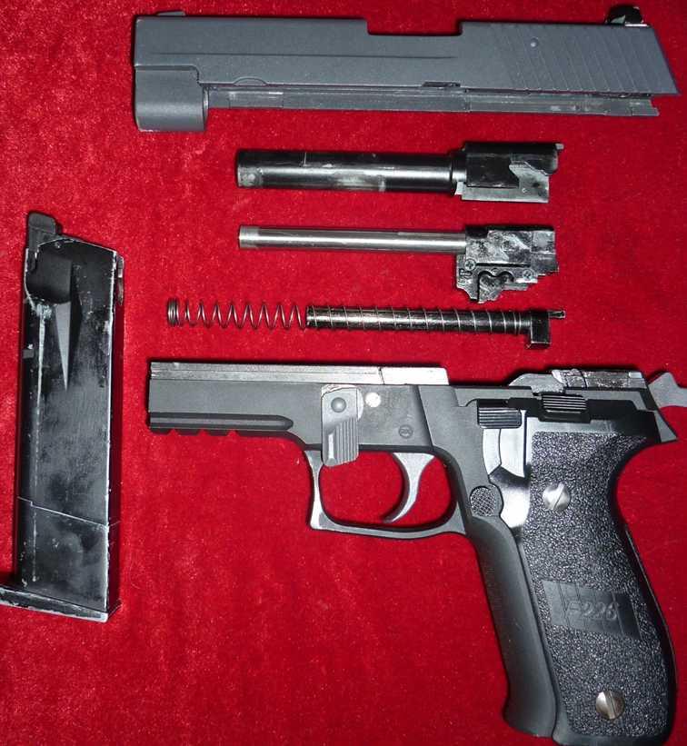 11)Обзор Airsoft пистолетов Sig Sauer P226 (ТМ и WE)