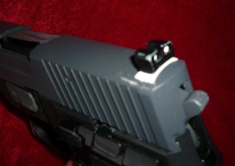12)Обзор Airsoft пистолетов Sig Sauer P226 (ТМ и WE)