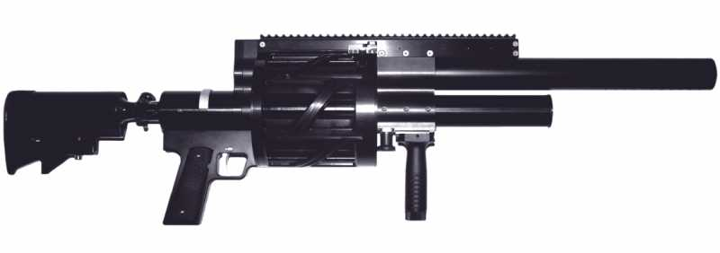 7)Крупнокалиберные со2 ружья-пушки ч.3