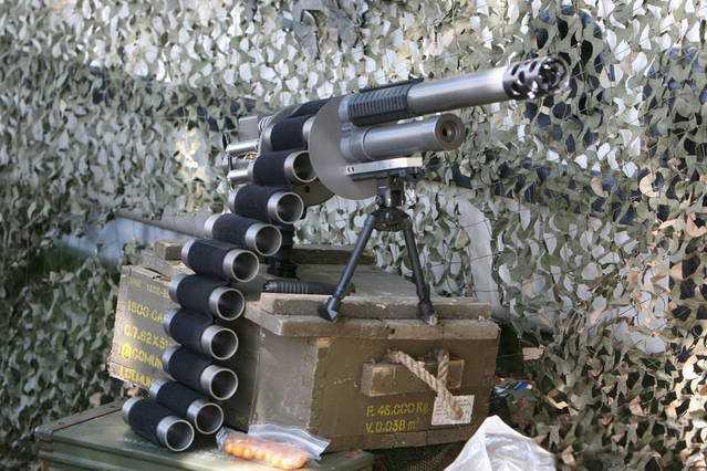 12)Крупнокалиберные со2 ружья-пушки ч.3