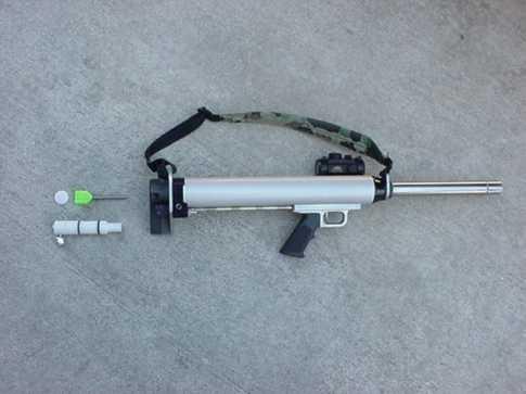 2)Крупнокалиберные со2 ружья-пушки ч.3