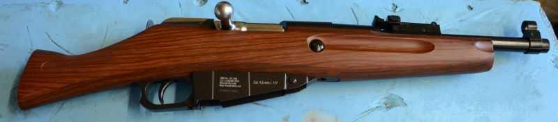 2)Gletcher M1891 ака Обрез, первый опыт