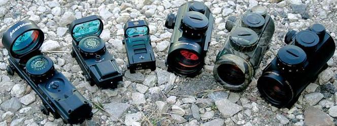Оптика для пневматического оружия. Коллиматорный прицел