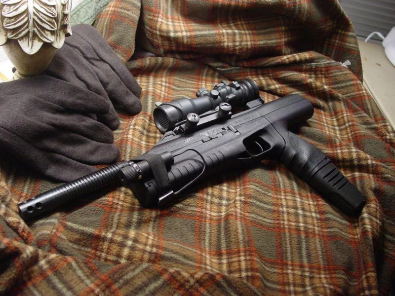2)Пистолет-пулемёт МР-661К