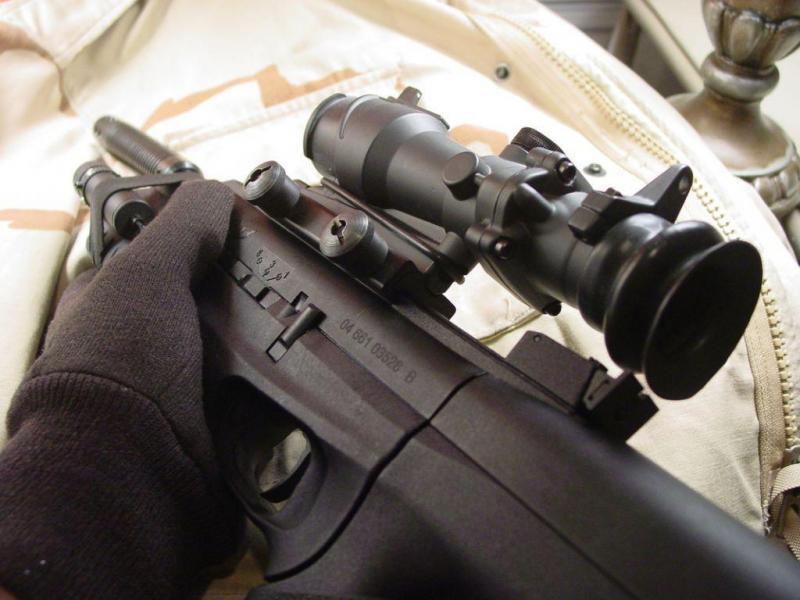 3)Пистолет-пулемёт МР-661К