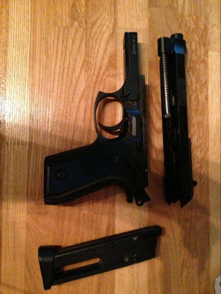 3)Обзор пневматического пистолета