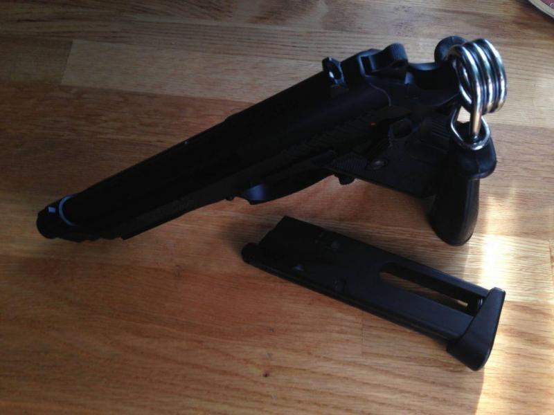 4)Обзор пневматического пистолета