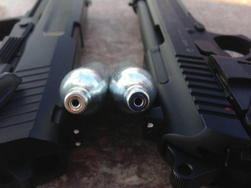 5)Обзор пневматического пистолета