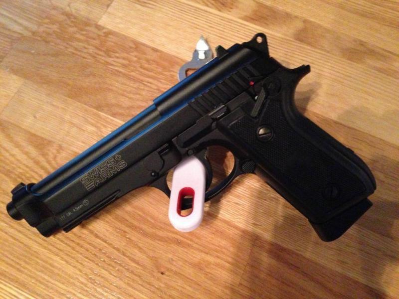 8)Обзор пневматического пистолета