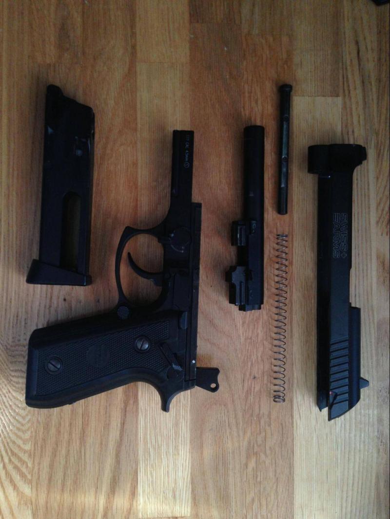 9)Обзор пневматического пистолета