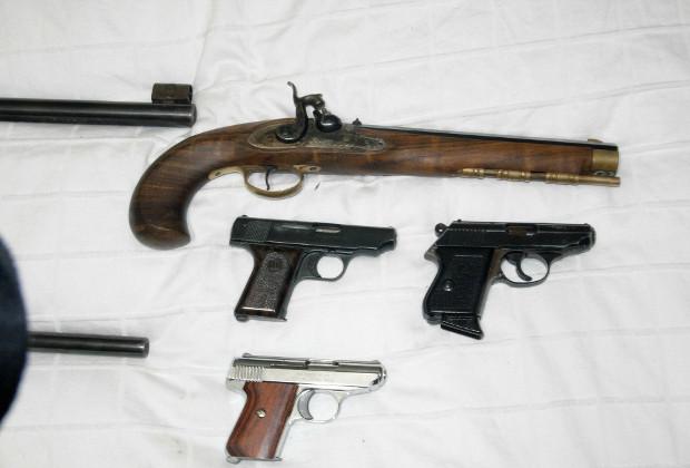 Оружие, «перехваченное» частниками во время официального выкупа