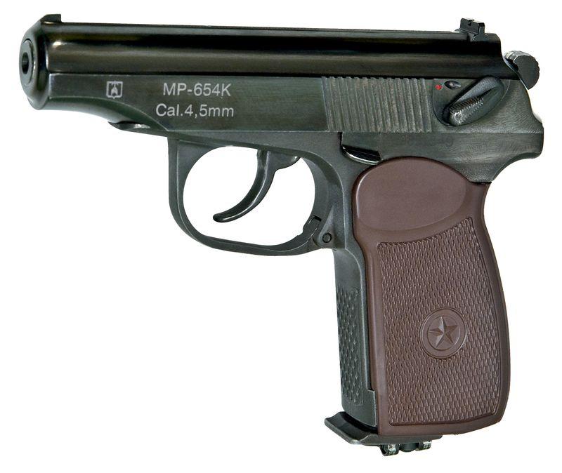 1)Наиболее популярные пневматические пистолеты