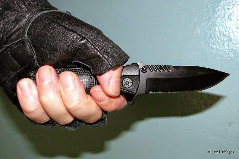 14)Складной нож WALTHER BLACK TAC - фотообзор.