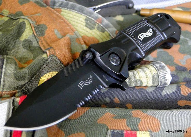 16)Складной нож WALTHER BLACK TAC - фотообзор.