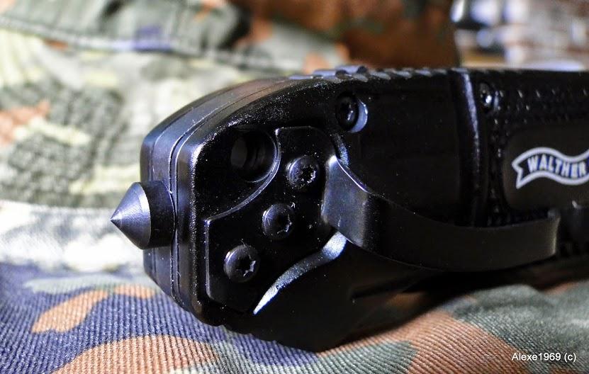 5)Складной нож WALTHER BLACK TAC - фотообзор.