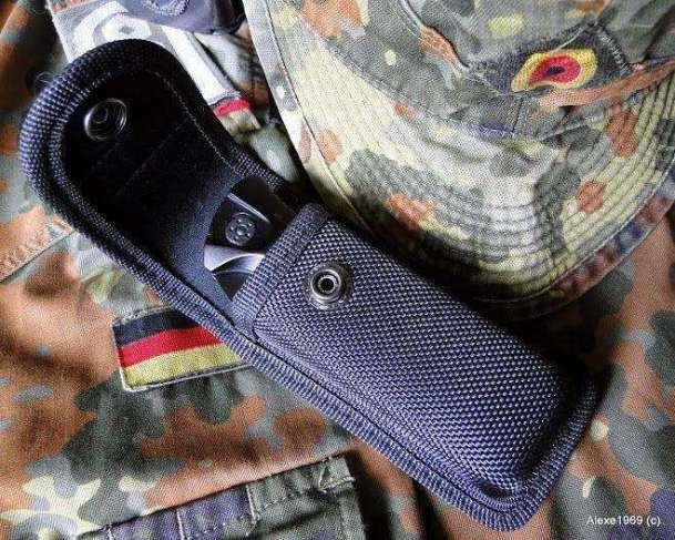 8)Складной нож WALTHER BLACK TAC - фотообзор.